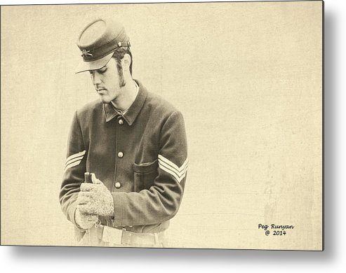 Soldier Metal Print featuring the photograph Soldier by Peg Runyan