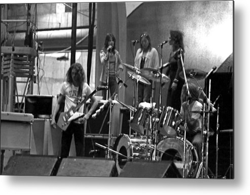 Lynyrd Skynyrd Metal Print featuring the photograph Soundcheck #9 by Ben Upham