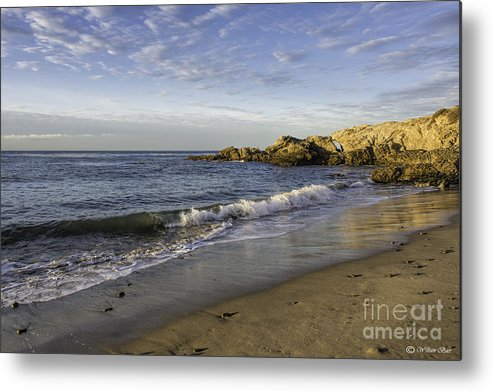 Seascapes Metal Print featuring the photograph Southern California by Bill Baer