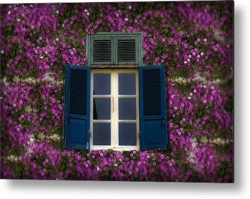 Window Metal Print featuring the photograph Spring Window by Radoslav Nedelchev
