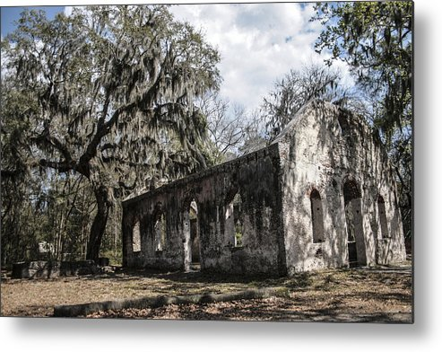 Chapel Of Ease Metal Print featuring the photograph St Helena Chapel Of Ease 1 by Steven Taylor
