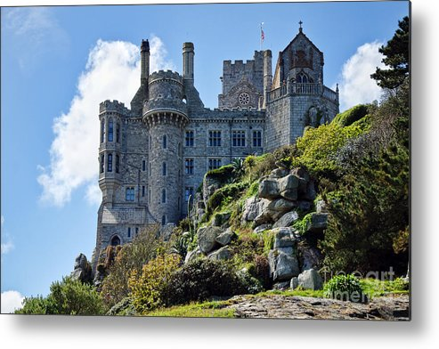 St Michaels Mount Metal Print featuring the photograph St Michael's Mount 1 by Susie Peek