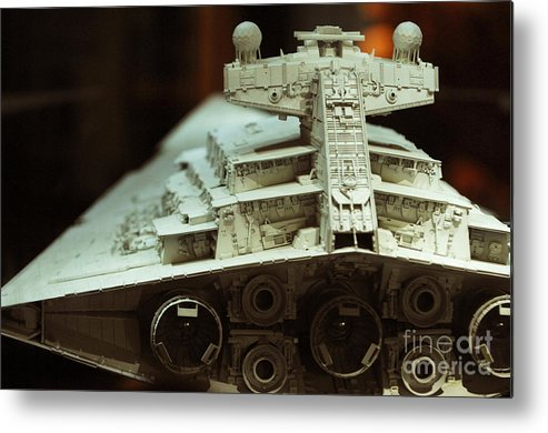 Fighter Metal Print featuring the photograph Star Destroyer Maquette by Micah May