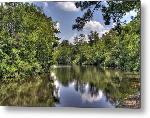River Metal Print featuring the photograph Still Waters by David Troxel