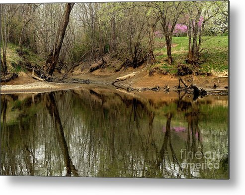 Water Metal Print featuring the photograph Still Waters by Douglas Stucky