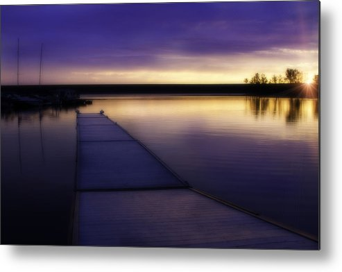 Chatfield State Park Metal Print featuring the photograph Still Waters by Kristal Kraft