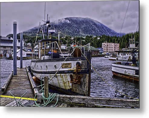tug Boat Metal Print featuring the photograph Stimson01 by Timothy Latta