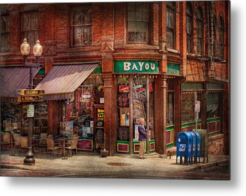 Pearl St Metal Print featuring the photograph Store - Albany Ny - The Bayou by Mike Savad