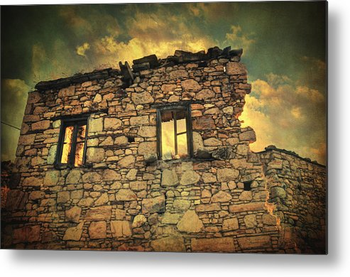 Village Metal Print featuring the photograph Storm Of Time by Zapista