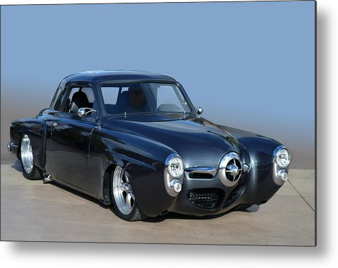 Studebaker Metal Print featuring the photograph Stude Rod by Bill Dutting