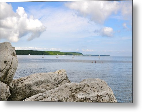 Door County Metal Print featuring the photograph Sturgeon Bay In Summer by Jeremy Evensen