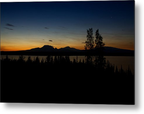 Sunrise Metal Print featuring the photograph Sunrise Mountains by Gary O'Boyle