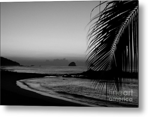 Landscape Metal Print featuring the photograph Sunrise On The Costa Chica by Mychelle Tremblay