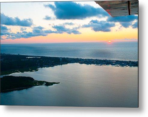 Sunrise Metal Print featuring the photograph Sunrise Over Dewey Beach by Path Joy Snyder