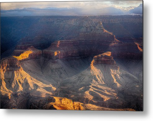 Grand Canyon Metal Print featuring the photograph Sunrise Over The Canyon by Lisa Spencer