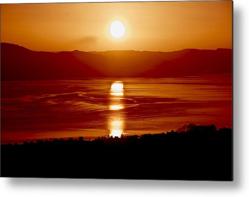 View Metal Print featuring the photograph Sunset by Euan Donegan