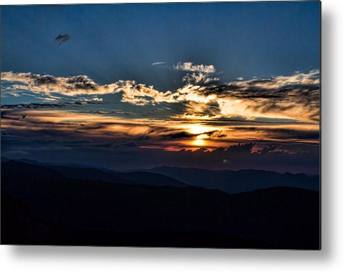 Sunset Metal Print featuring the photograph Sunset In The West by JoJo Photography