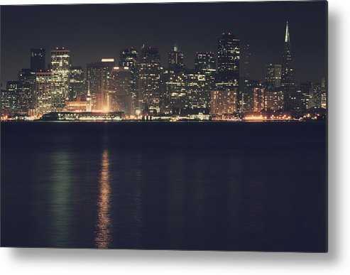 San Francisco Metal Print featuring the photograph Surrender All Your Dreams To Me Tonight by Laurie Search