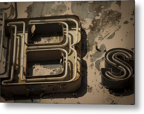 Abandon Metal Print featuring the photograph That's Bs by Jessica Berlin