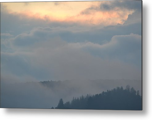 Cloud Metal Print featuring the photograph The Cloud by Martin Kleefeldt