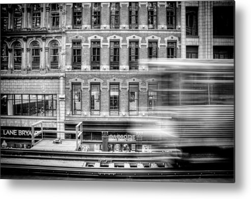 Chicago Metal Print featuring the photograph The Elevated by Scott Norris