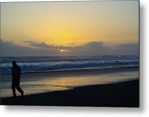 Sunset Metal Print featuring the photograph The End Of Day by Tikvah's Hope