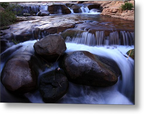 Sedona Metal Print featuring the photograph The Evenflow by Kenan Sipilovic