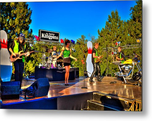The Kingpins Metal Print featuring the photograph The Fabulous Kingpins by David Patterson