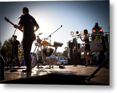 The Kingpins Metal Print featuring the photograph The Fabulous Kingpins - Pullman's 4th Of July Celebration by David Patterson