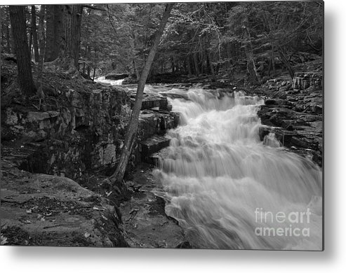 Waterfall Metal Print featuring the photograph The Falls by David Rucker
