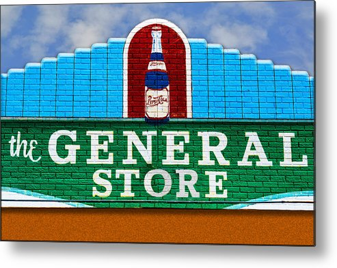 Photography Metal Print featuring the photograph The General Store by Paul Wear
