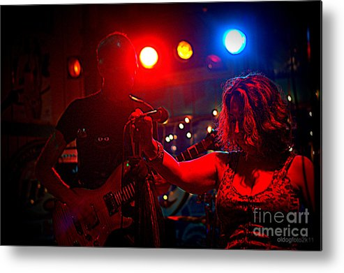 Digital Photos Metal Print featuring the photograph The Gig by Micheal Driscoll