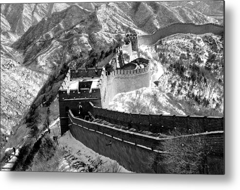 China Metal Print featuring the photograph The Great Wall Of China by Sebastian Musial