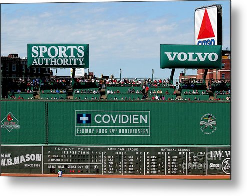 Fine Art America Metal Print featuring the photograph The Green Monster 99 by Tom Prendergast