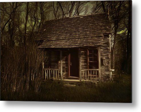 Hermits Metal Print featuring the photograph The Hermit's Cabin by Julie Dant