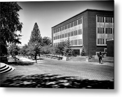 The Holland Library Metal Print featuring the photograph The Holland Library - Pullman Washington by David Patterson