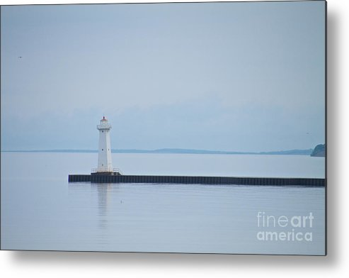Sodus Metal Print featuring the photograph The Jetty by William Norton