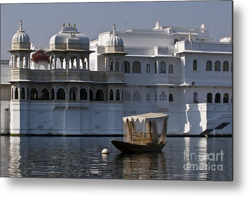 Asia Metal Print featuring the photograph The Lake Palace, India by John Shaw