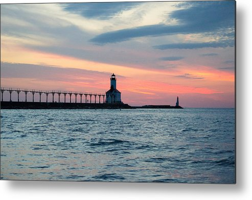Lakes Metal Print featuring the photograph The Lighthouse by Amy Imperato