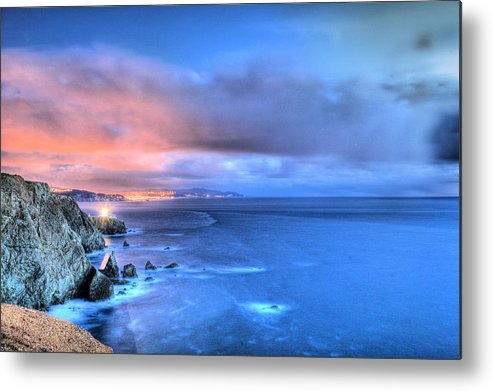 Bonita Point Metal Print featuring the photograph The Lighthouse by JC Findley