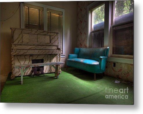 Borscht Belt Metal Print featuring the photograph The Lounge by Rick Kuperberg Sr