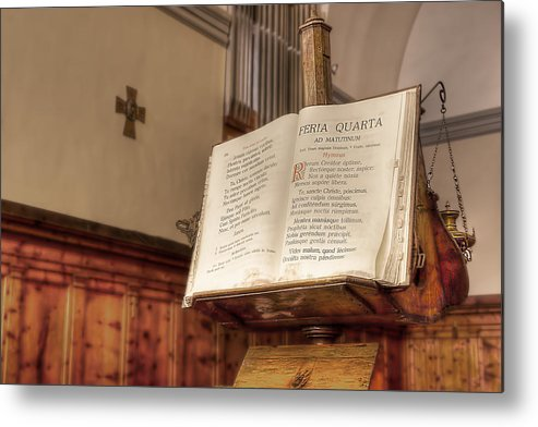 Missal Metal Print featuring the photograph The Missal by Leonardo Marangi