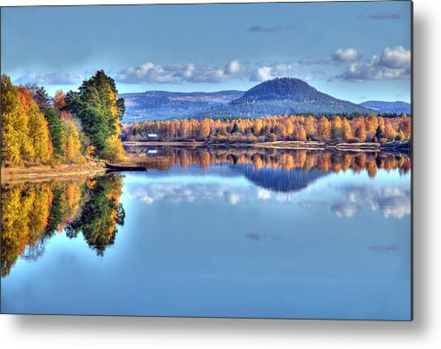 Sweden Metal Print featuring the photograph The Northen Lake by Michael Nystrom