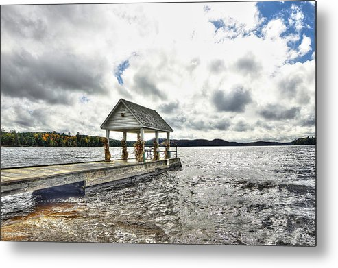 Pier Metal Print featuring the photograph The Pier by Ciaran Gearty
