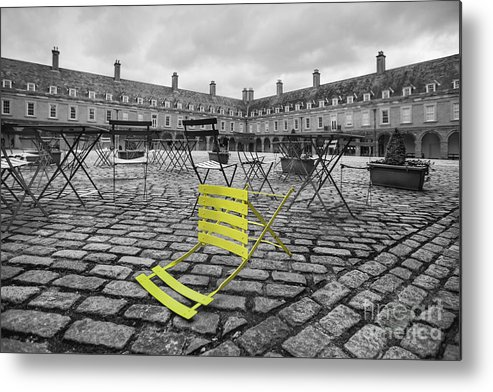 Dublin Metal Print featuring the photograph The Rebel by Evelina Kremsdorf