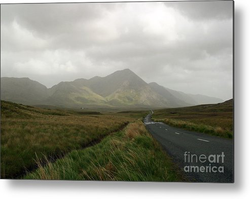 Ireland Metal Print featuring the photograph The Road To Tully Cross by Butch Lombardi