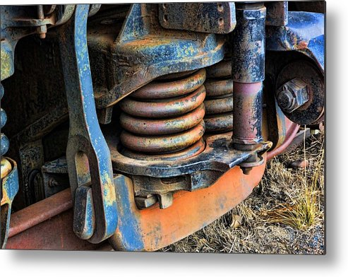 Evanston Metal Print featuring the photograph The Roundhouse Evanston Wyoming Dining Car - 2 by Ely Arsha