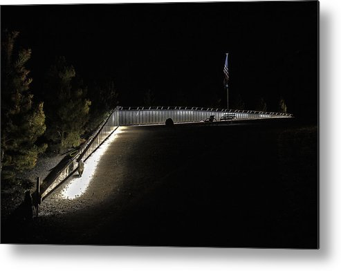 Wall Metal Print featuring the photograph The Wall by David Kehrli