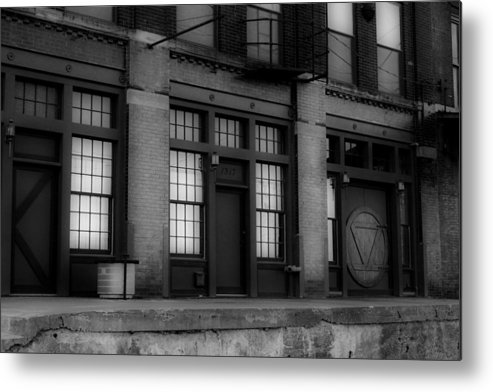 1317 Metal Print featuring the photograph The West Bottoms Bw by Elizabeth Sullivan