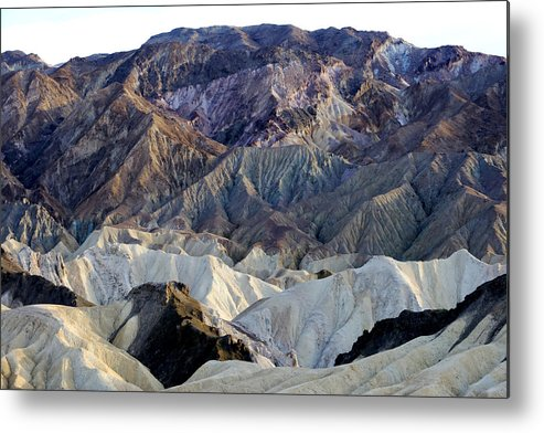Mountains Metal Print featuring the photograph The White And The Red Of It by Bryan Shane